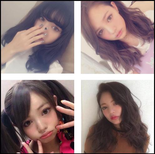 ちぃぽぽ 髪型