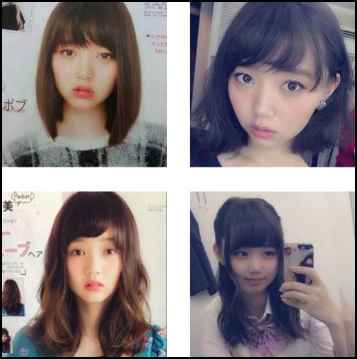 江野沢愛美 髪型
