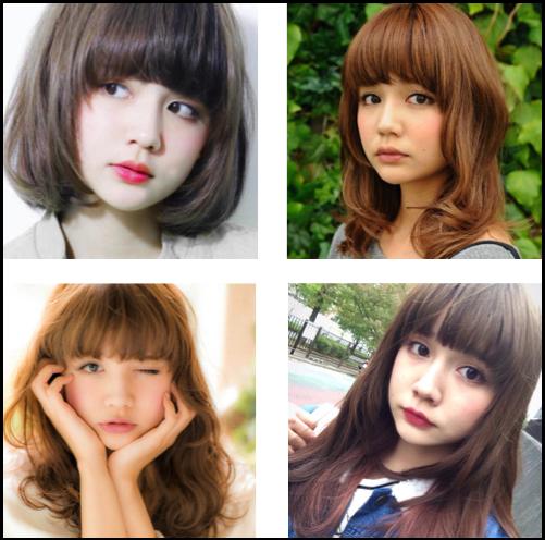 村田倫子 髪型