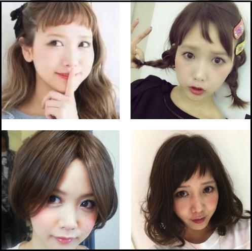 田中里奈 髪型