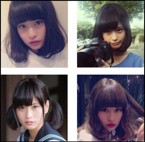 横田ひかる 髪型