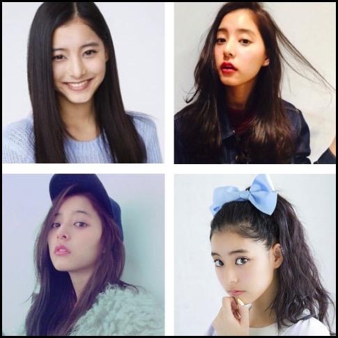 新木優子 髪型