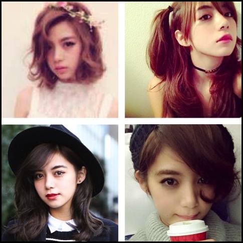 池田エライザ 髪型