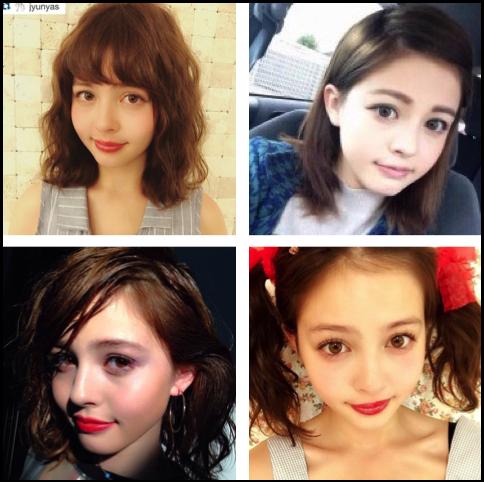 加藤ナナ 髪型
