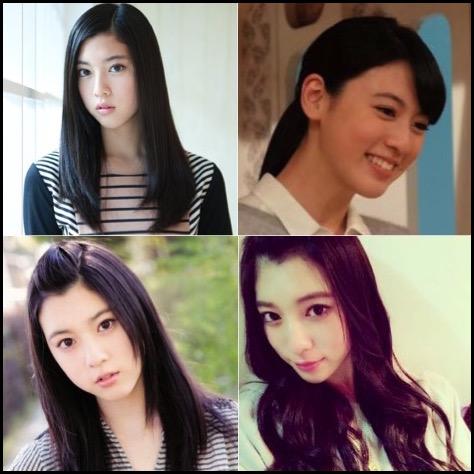 三吉彩花 髪型
