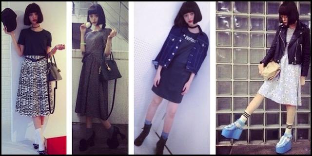 玉城ティナ 私服 ファッション