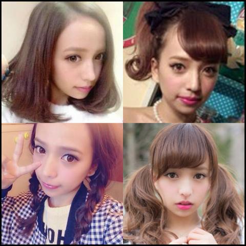 ゆみちぃ 髪型