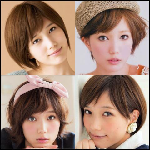 本田翼 髪型