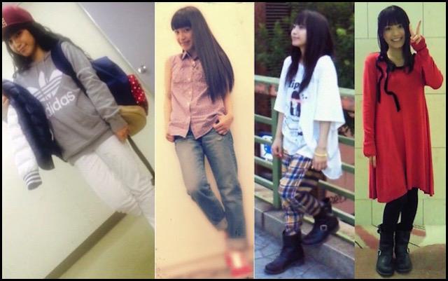miwa 私服 ファッション