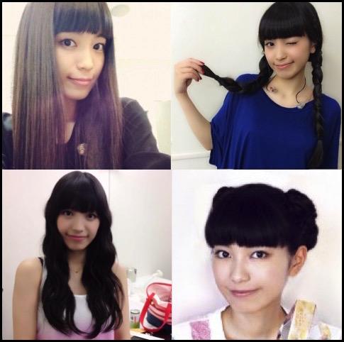 miwa 髪型
