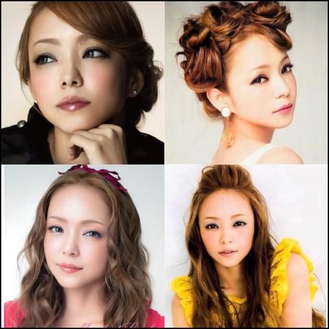 安室奈美恵 髪型