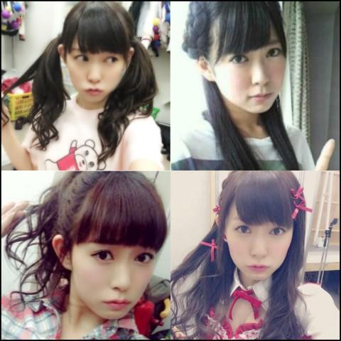 渡辺美優紀 髪型