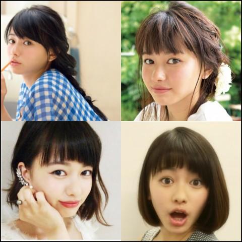 山本舞香 髪型