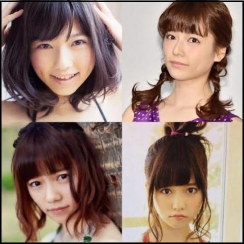 ぱるる 島崎遥香 髪型