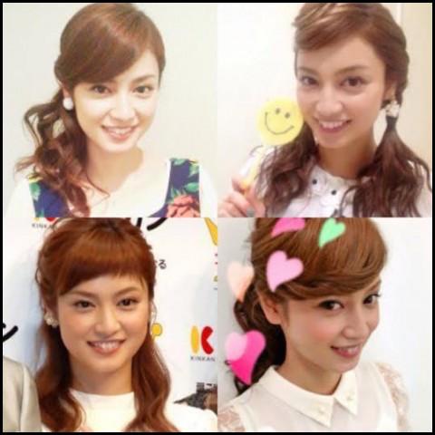 平愛梨 髪型