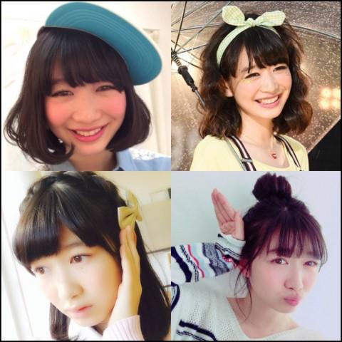 岡本夏美 髪型