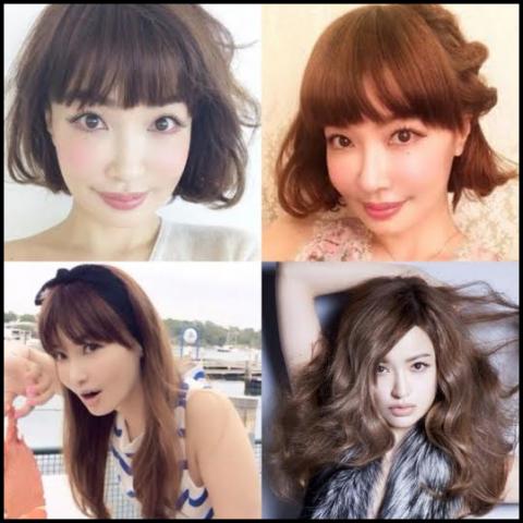 平子理沙 髪型