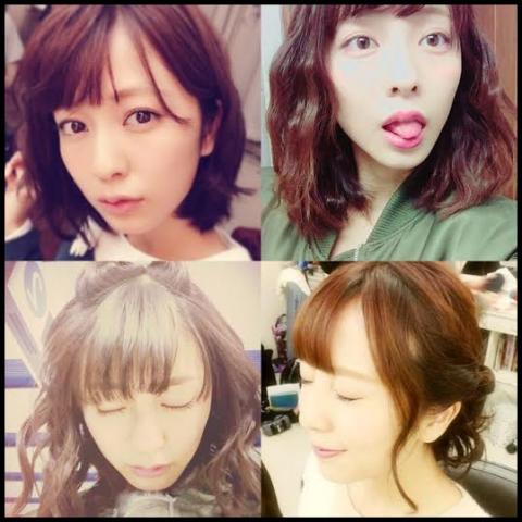 小島梨里杏 髪型
