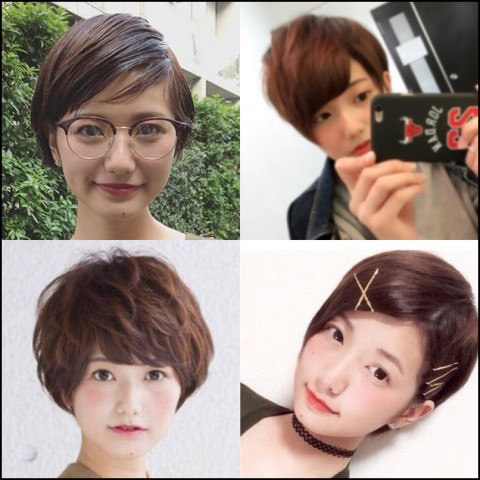 塗木莉緒 髪型