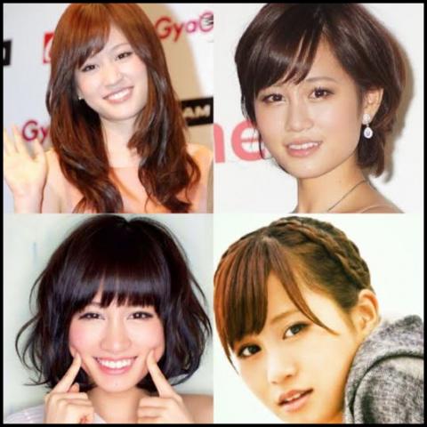前田敦子 髪型