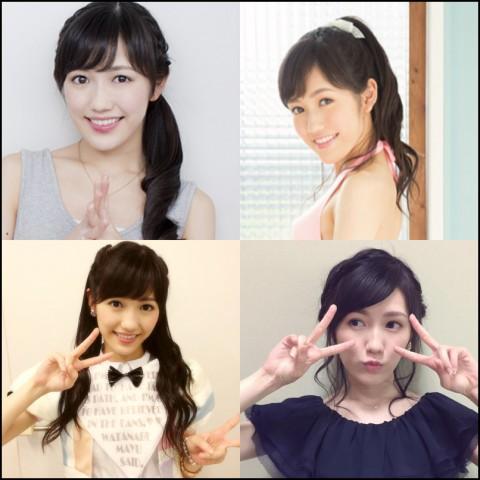 渡辺麻友 髪型