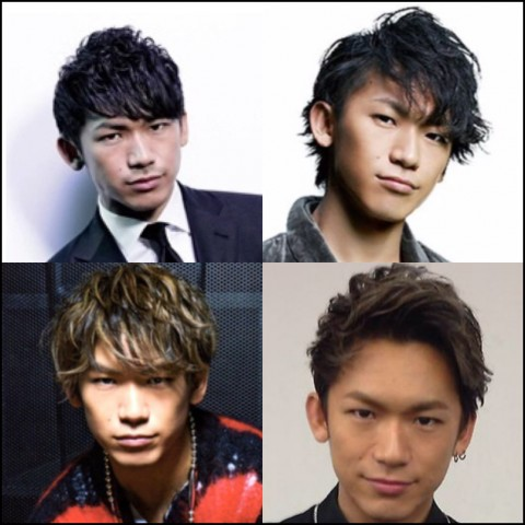 naoto 髪型