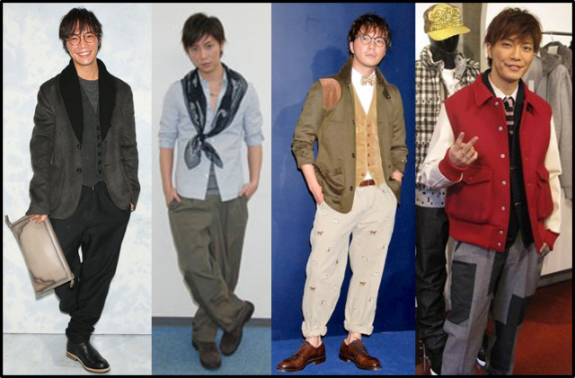 成宮寛貴 ファッション
