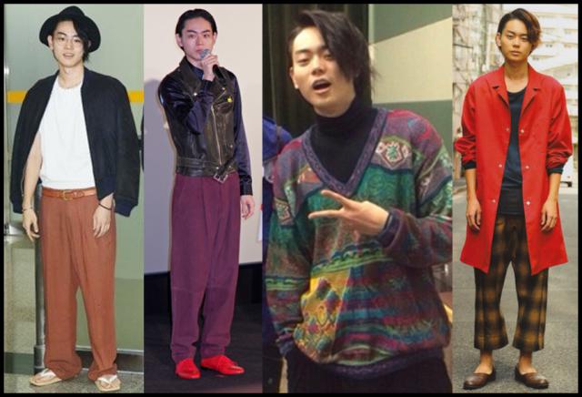 菅田将暉 ファッション